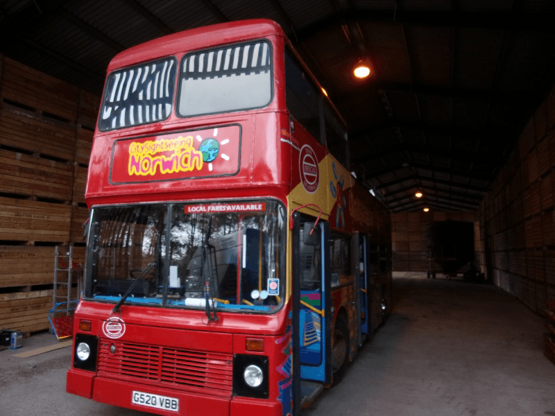 bus roof refurbishment