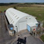 Nissen Hut Protective Paint Coating