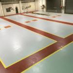Slip-Resistant Factory Resin Flooring