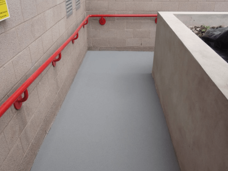 slip resistant resin ramps