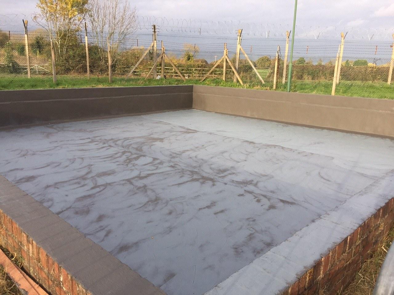 Leaking Concrete Tank Lining Corroless Eastern
