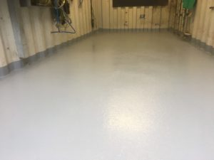 Resin Floor – Water Treatment Lincolnshire