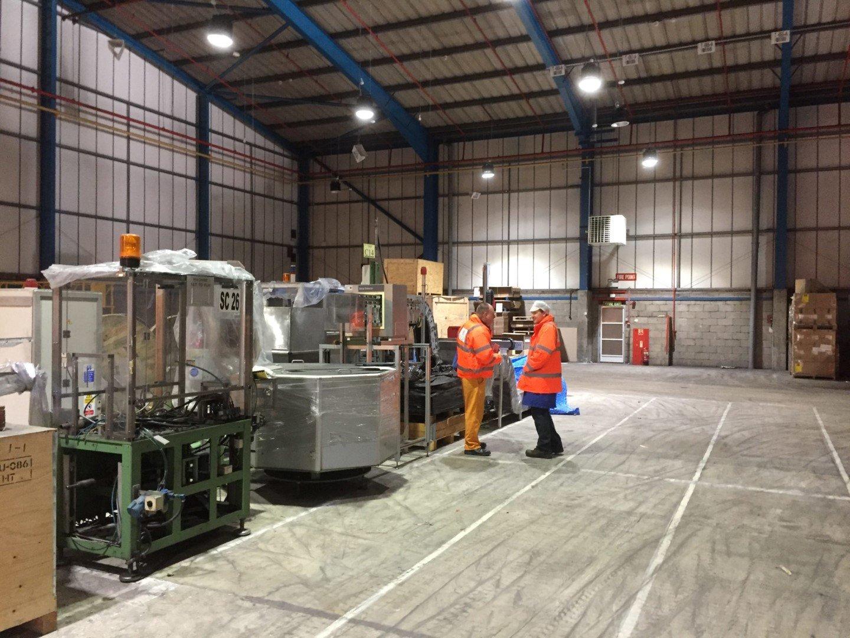New Factory Floor In Norwich Corroless Eastern