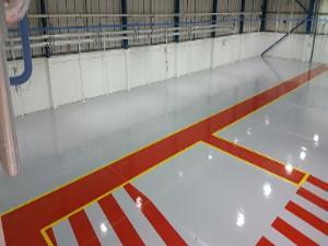 Resin Flooring – Factory Floor Norwich