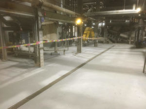 Completed Polyurethane Screed