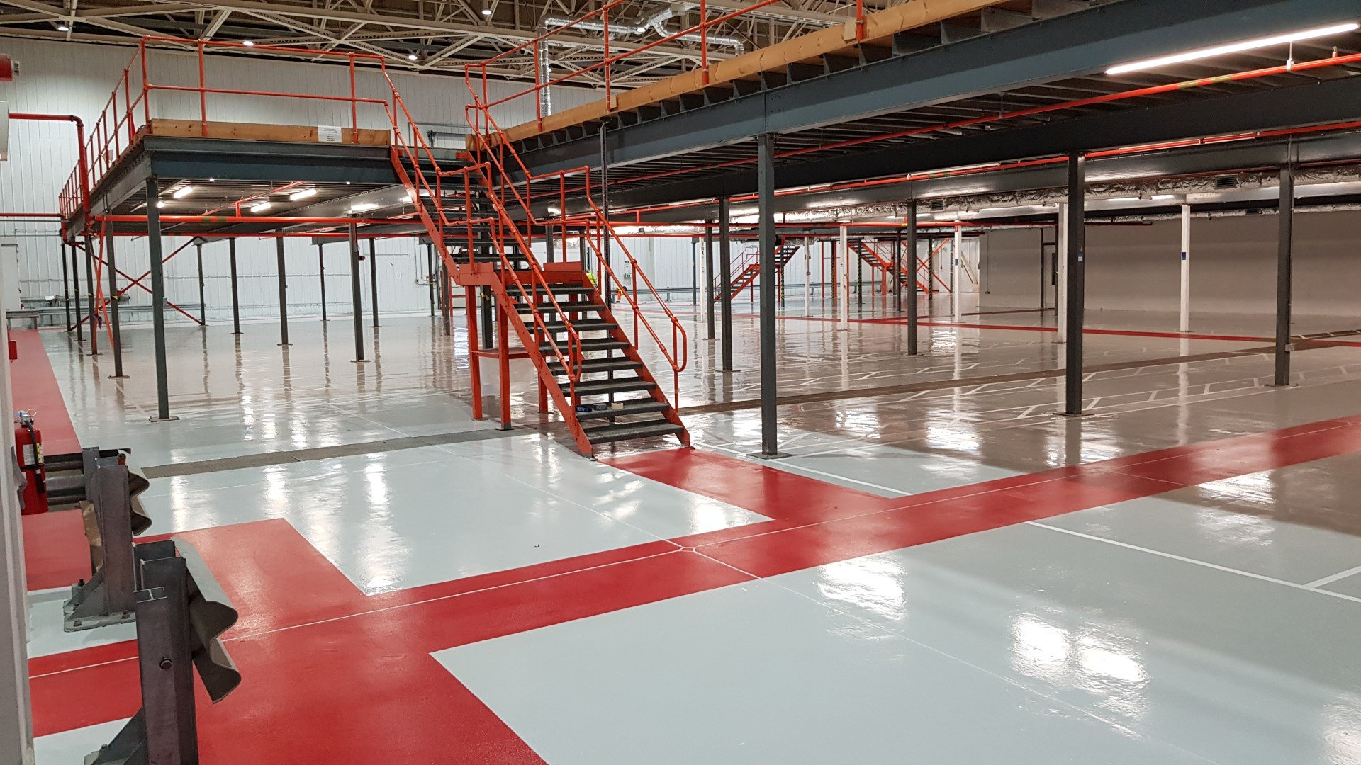 Warehouse Industrial Resin Flooring In Suffolk As
