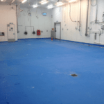 Dominos Pizza Polyurethane Flooring