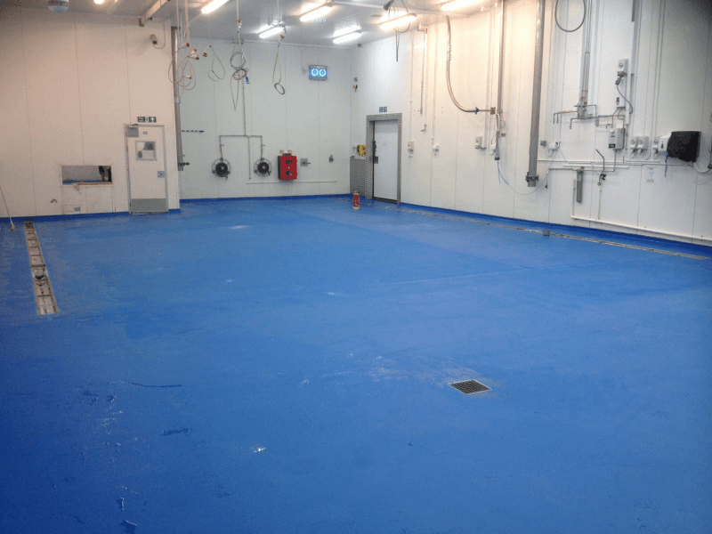 dominos industrial resin flooring