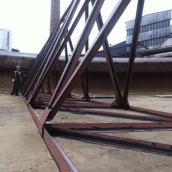 mud thickener steelwork