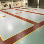 Slip-Resistant Factory Resin Flooring