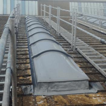 waterproofing skylight - polyurea