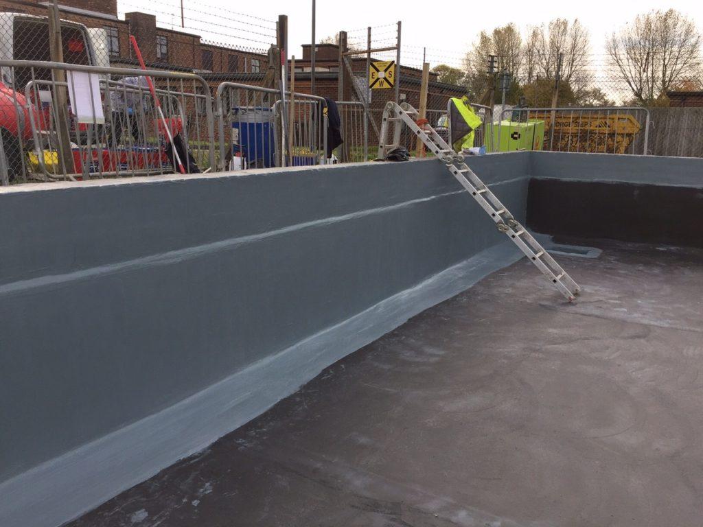 Concrete Water tank lining