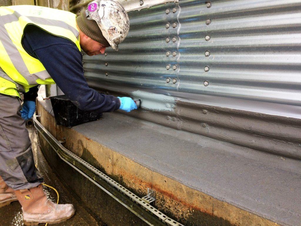 Silo Base Waterproofing