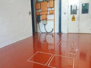 Finished Industrial Flooring
