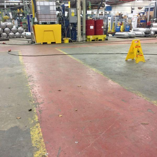 Industrial Flooring In Norwich, Norfolk