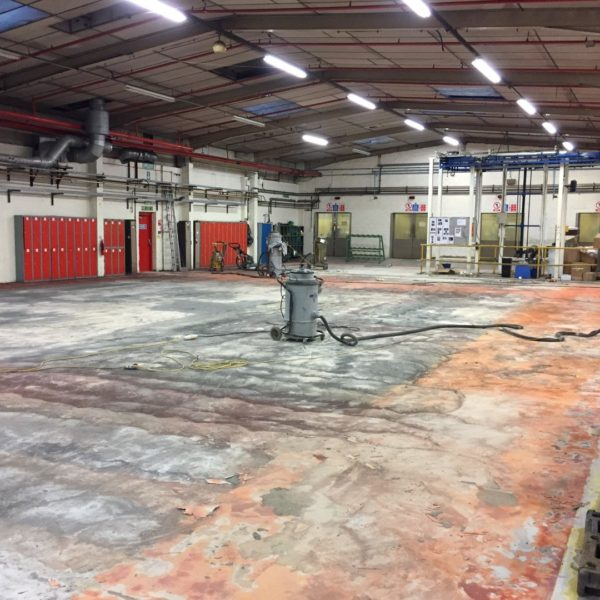 Industrial Flooring Norwich - Norfolk