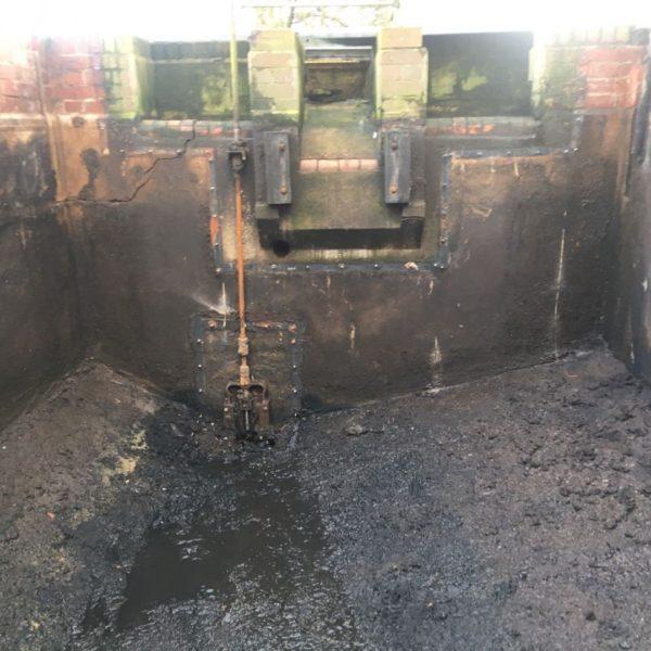Polyurea Waste Water Tank Relining 04