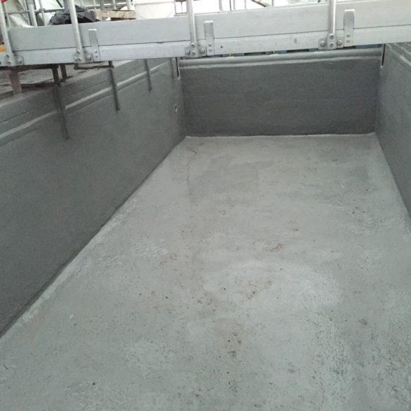 Polyurea Waste Water Tank Relining