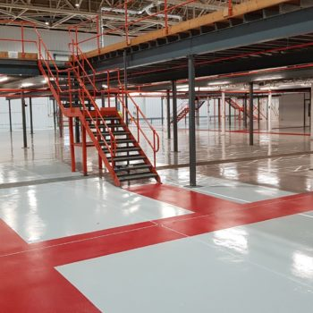 Warehouse industrial flooring in Suffolk