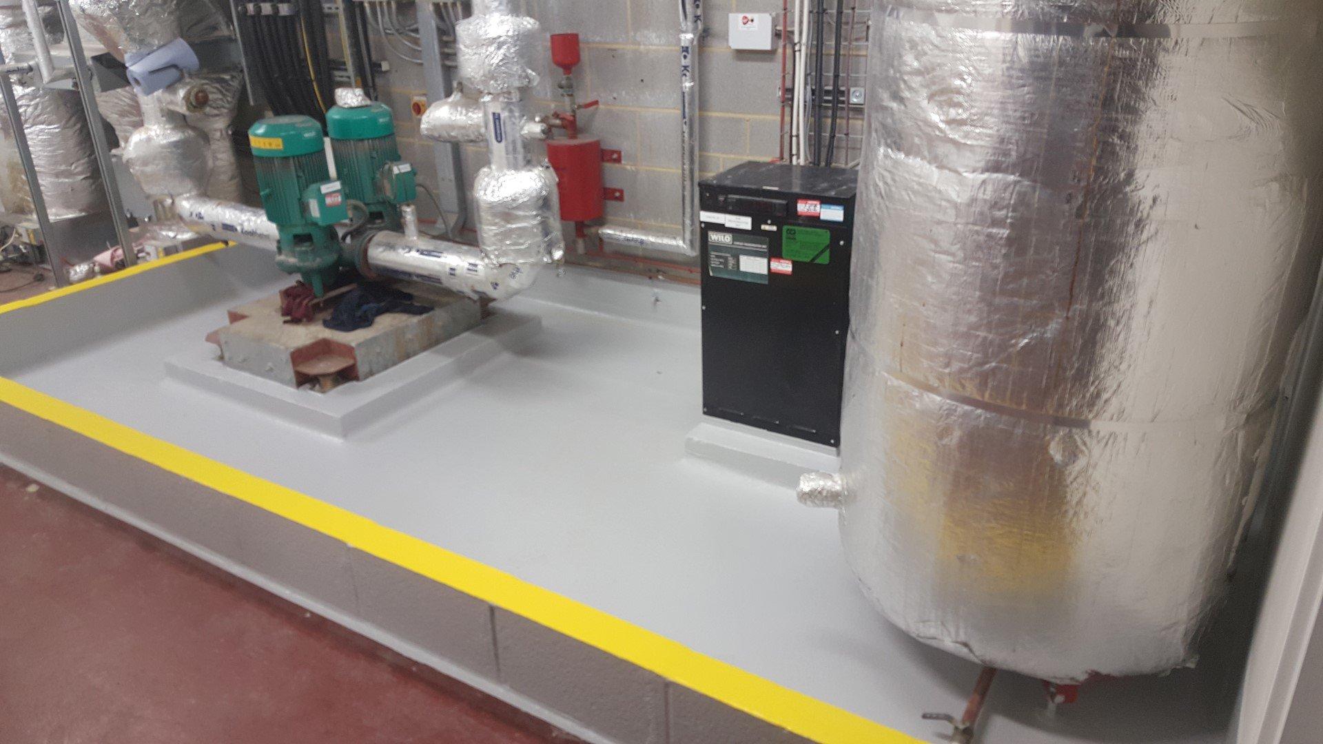 Case Study Bund Lining Amp Plant Room Tanking