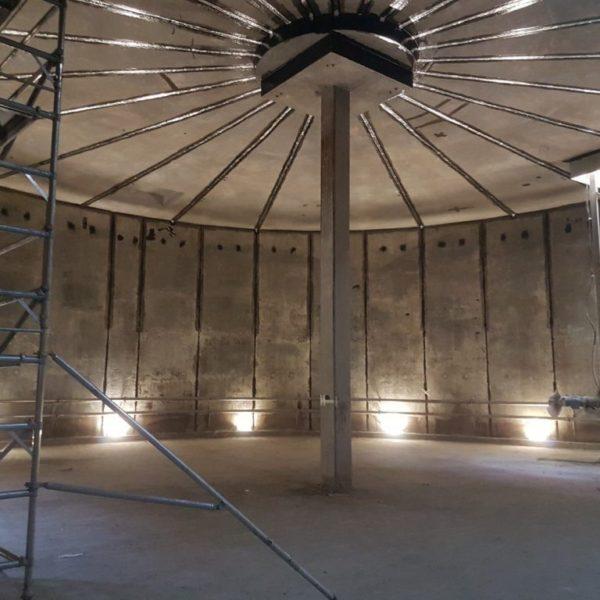 Concrete Storage Tank Lining 05