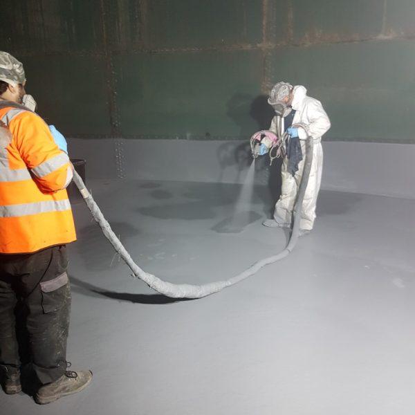 Polyurea Tank Sealing
