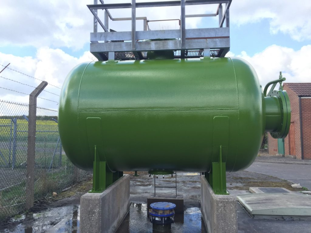Surge Vessel Tank Lining 12