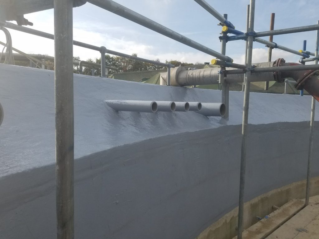 Sludge Tank Lining 07
