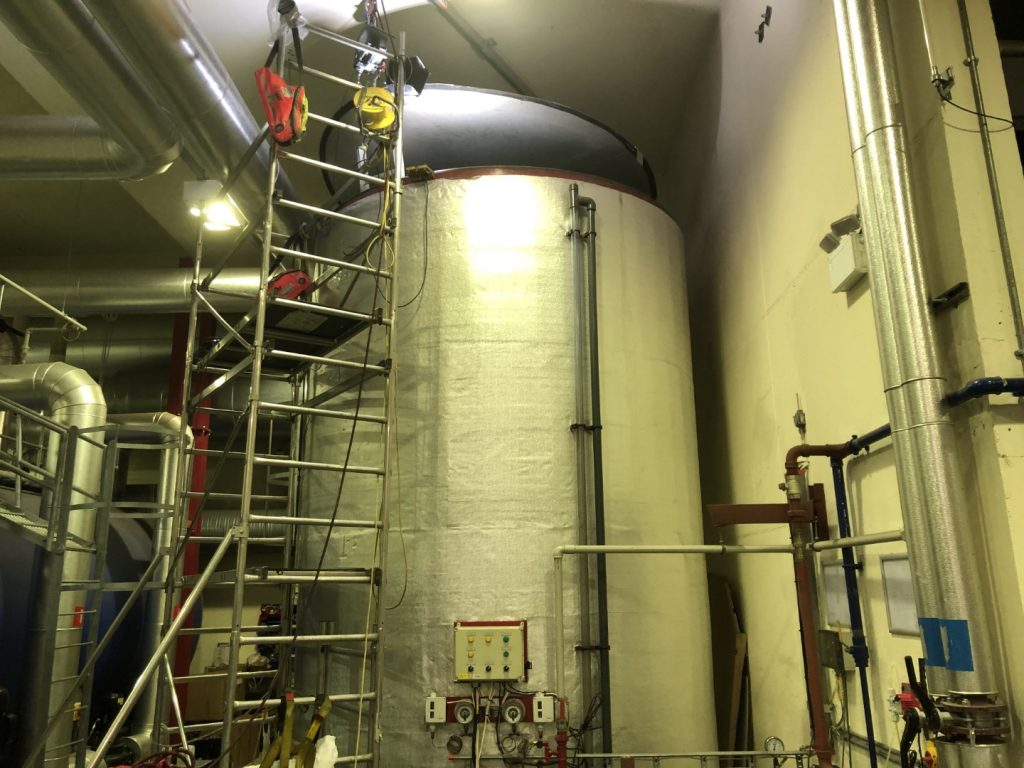 Hot Water Tank Lining 01