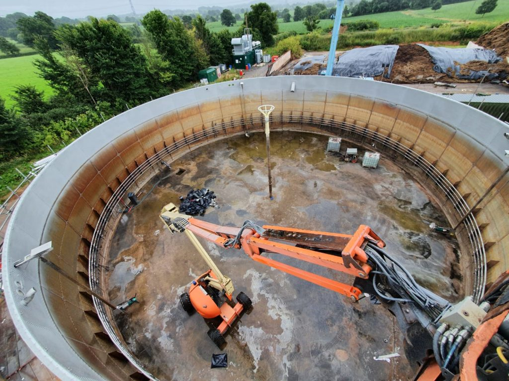 Stainless Steel Digester Lining With Polyurea 01