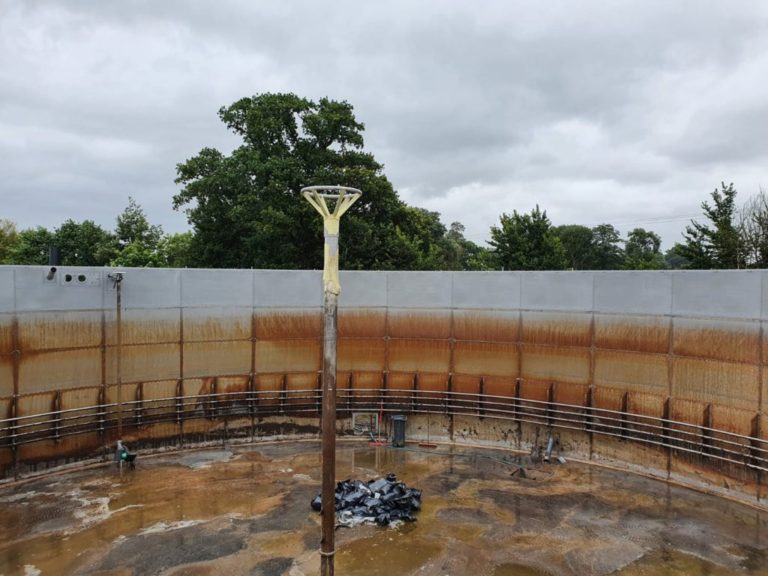Stainless Steel Digester Lining With Polyurea 02