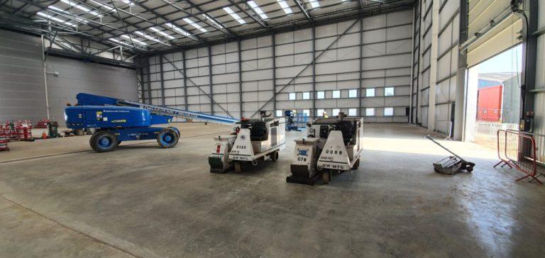 Aircraft Hangar Resin Flooring 03