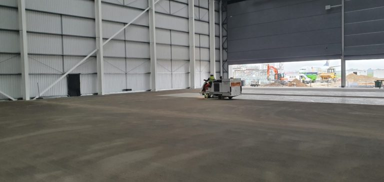 Aircraft Hangar Resin Flooring 04