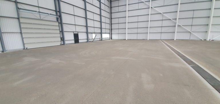 Aircraft Hangar Resin Flooring 05