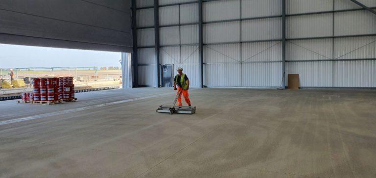 Aircraft Hangar Resin Flooring 06