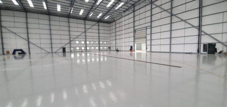 Aircraft Hangar Resin Flooring 09